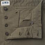 Edwin Rail Garmgent Dyed Men's Shorts Khaki photo- 1