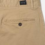 Мужские шорты Edwin Rail Garmgent Dyed Stone Beige фото- 4