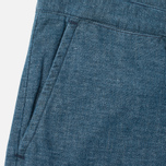 Мужские шорты Edwin Rail Japanese Twisted Chambray 5.86 Oz Blue фото- 3