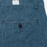 Мужские шорты Edwin Rail Japanese Twisted Chambray 5.86 Oz Blue фото- 1
