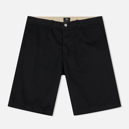 Мужские шорты Edwin Rail Short Compact Twill Black Rinsed