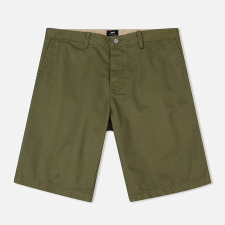 Мужские шорты Edwin Rail Short Compact Twill Military Green Rinsed