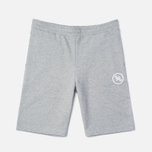 Мужские шорты Edwin Training Sweat Grey Marl фото- 0