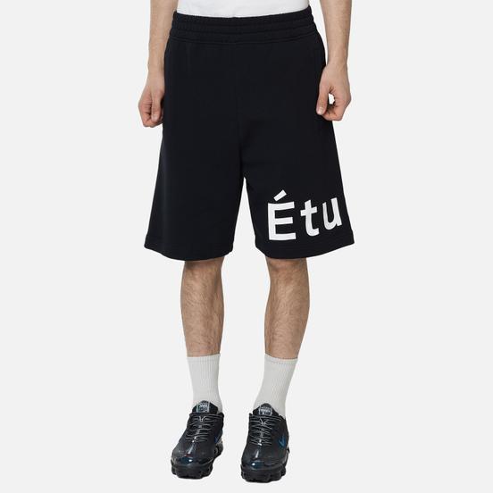 Мужские шорты Etudes Tempera Etudes Black