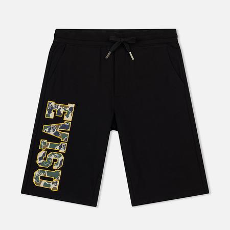 Мужские шорты Evisu Heritage Camo Evisu At Front Black