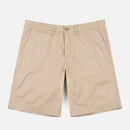 Fred Perry Classic Twill Men`s Shorts Warm Stone