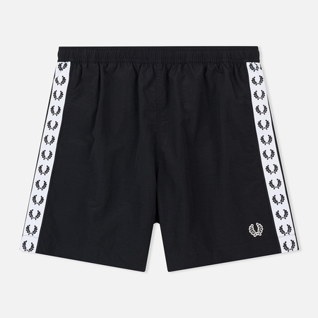 Мужские шорты Fred Perry Laurel Taped Black