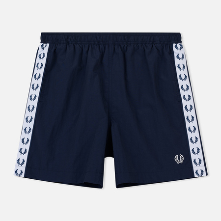 Мужские шорты Fred Perry Laurel Taped Carbon Blue
