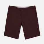 Мужские шорты Fred Perry Sharp Twill Bordeaux фото- 0