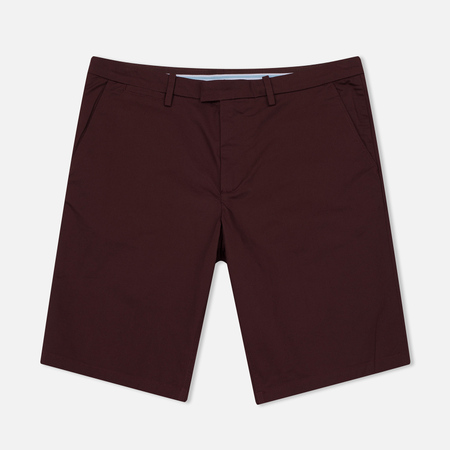 Мужские шорты Fred Perry Sharp Twill Bordeaux