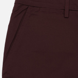 Мужские шорты Fred Perry Sharp Twill Bordeaux фото- 1