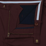 Мужские шорты Fred Perry Sharp Twill Bordeaux фото- 2