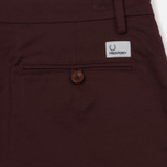 Мужские шорты Fred Perry Sharp Twill Bordeaux фото- 3