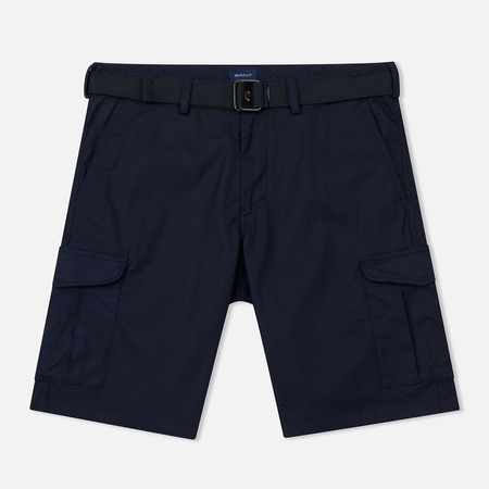 Мужские шорты Gant Relaxed Belted Utility Classic Blue
