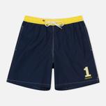 Мужские шорты Hackett Number 1 Volley Navy фото- 0