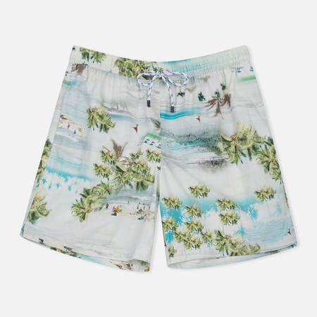 Мужские шорты Hackett Paradise Beach White