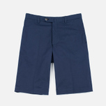 Мужские шорты Hackett Slim Stretch Cotton Navy фото- 0