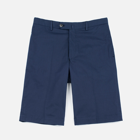 Hackett Slim Stretch Cotton Men`s Shorts Navy
