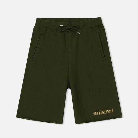 Мужские шорты Han Kjobenhavn Sweat Logo Army