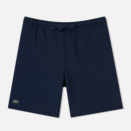 Мужские шорты Lacoste Sport Fleece Tennis Navy Blue