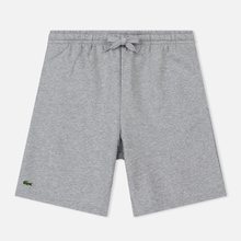 Мужские шорты Lacoste Sport Fleece Tennis Silver Chine фото- 0