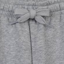 Мужские шорты Lacoste Sport Fleece Tennis Silver Chine фото- 1