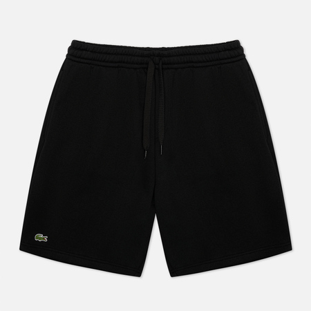 Мужские шорты Lacoste Sport Tennis Fleece Black