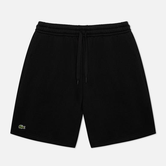 Мужские шорты Lacoste Sport Tennis Fleece Black