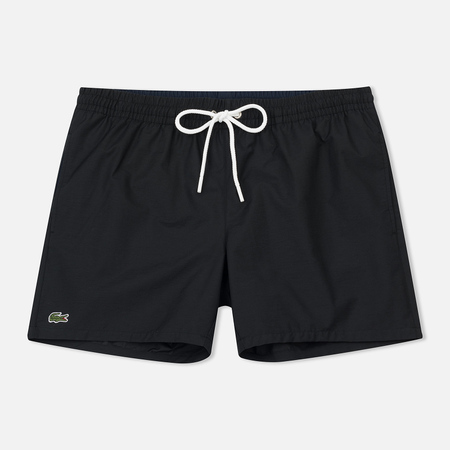 Мужские шорты Lacoste Taffeta Swim Trunks Black/Navy