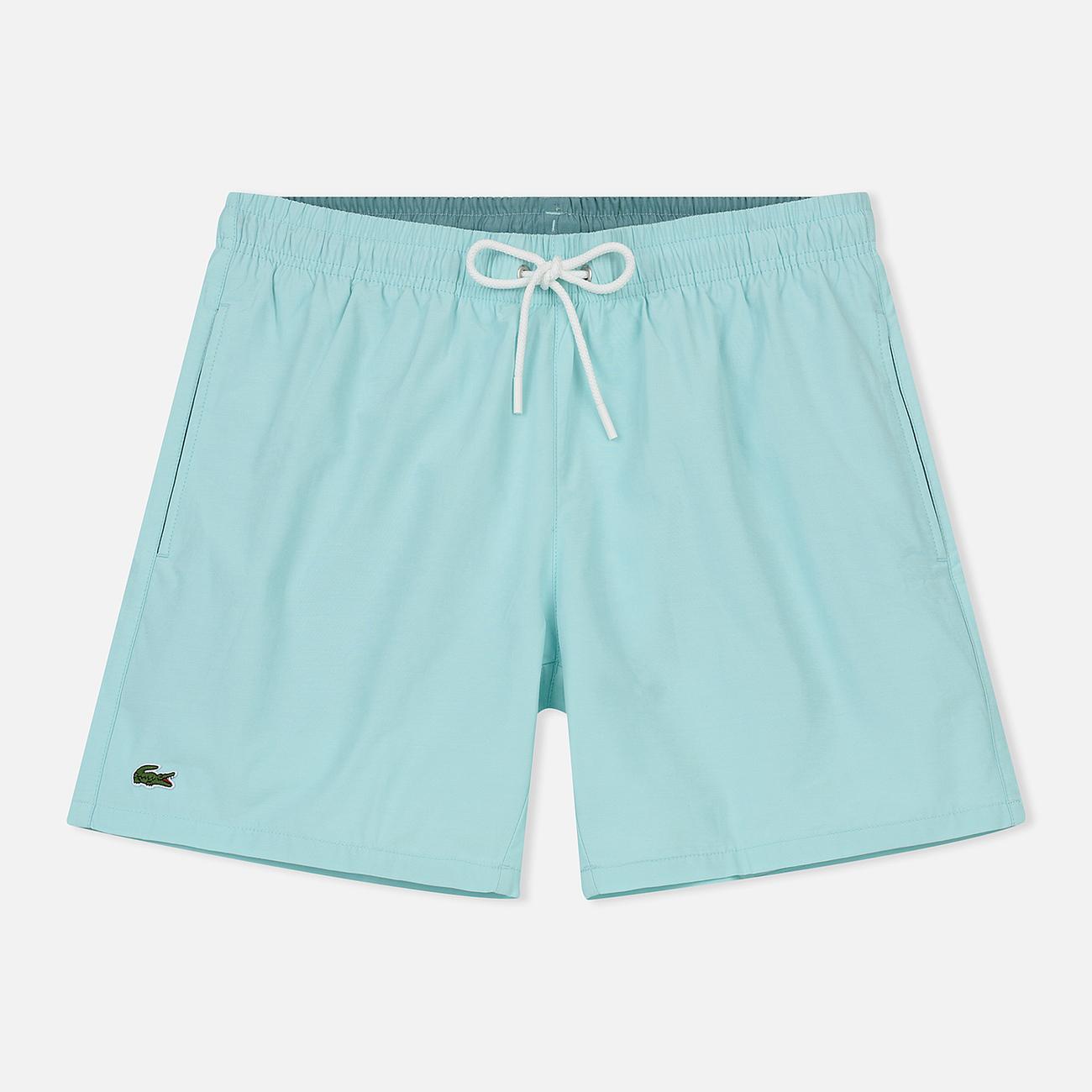 Мужские шорты Lacoste Taffeta Swim White/Blue