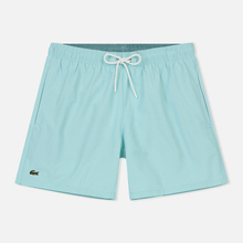 Мужские шорты Lacoste Taffeta Swim White/Blue фото- 0