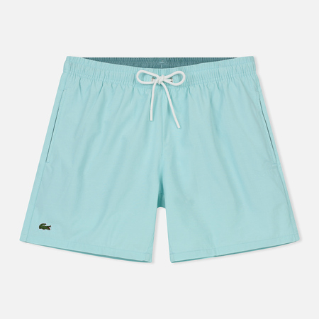 Мужские шорты Lacoste Taffeta Swim White/Blue