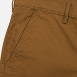 Мужские шорты Levi's Straight Chino Spicy Brown Musta Panama фото- 1