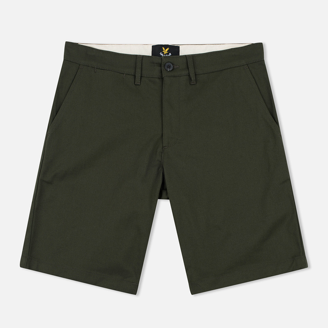 Мужские шорты Lyle & Scott Chino Dark Sage