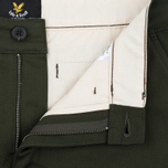 Мужские шорты Lyle & Scott Chino Dark Sage фото- 1