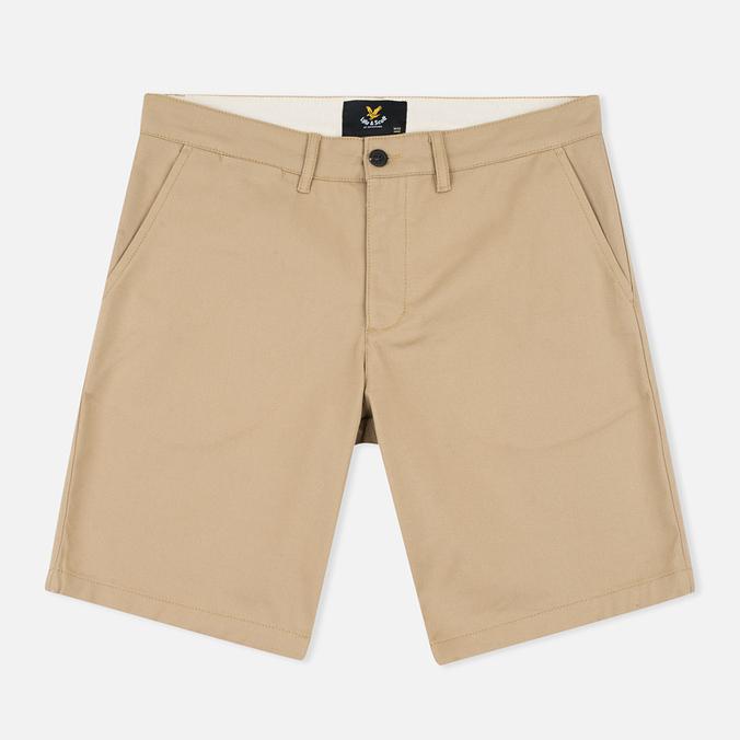 Мужские шорты Lyle & Scott Chino Dark Sand
