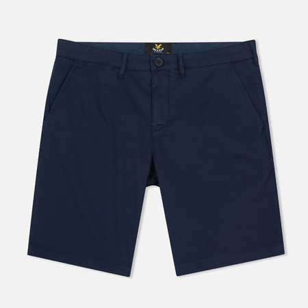 Мужские шорты Lyle & Scott Garment Dye Navy