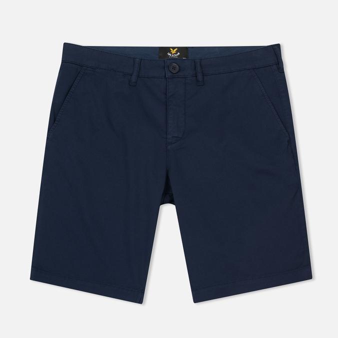 Мужские шорты Lyle & Scott Garment Dye Navy