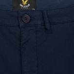Мужские шорты Lyle & Scott Garment Dye Navy фото- 2