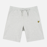 Lyle & Scott Loopback Sweat Men's Shorts Light Grey Marl photo- 0