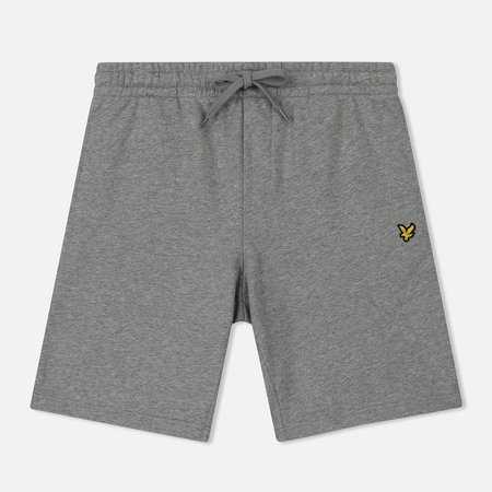 Мужские шорты Lyle & Scott Loopback Sweat Mid Grey Marl