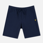 Мужские шорты Lyle & Scott Loopback Sweat Navy фото- 0