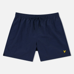 Мужские шорты Lyle & Scott Plain Swim Navy фото- 0