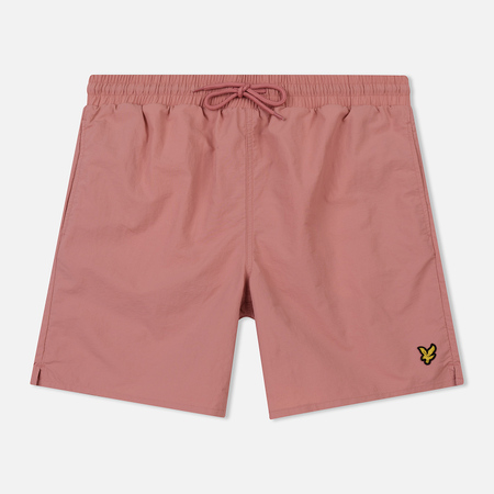Мужские шорты Lyle & Scott Plain Swim Pink Shadow