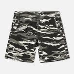 Мужские шорты maharishi Camo Swim Tigerstripe Murale Black фото- 0