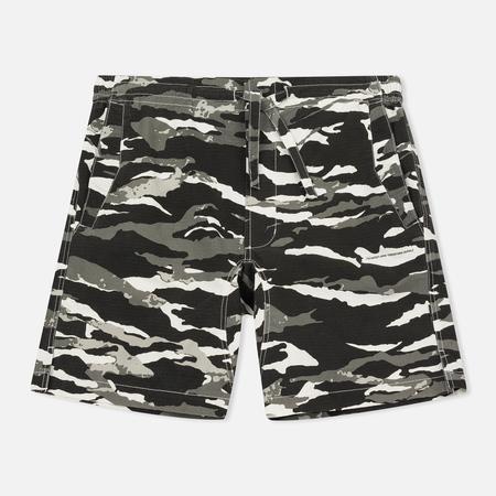 Мужские шорты maharishi Camo Swim Tigerstripe Murale Black