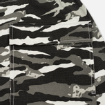 Мужские шорты maharishi Camo Swim Tigerstripe Murale Black фото- 3