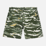 Мужские шорты maharishi Camo Swim Tigerstripe Murale Forest фото- 0