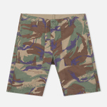 Maharishi Reversible Camo Twill Men's Shorts Papal Woodland/Sand photo- 0