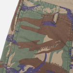 Maharishi Reversible Camo Twill Men's Shorts Papal Woodland/Sand photo- 2